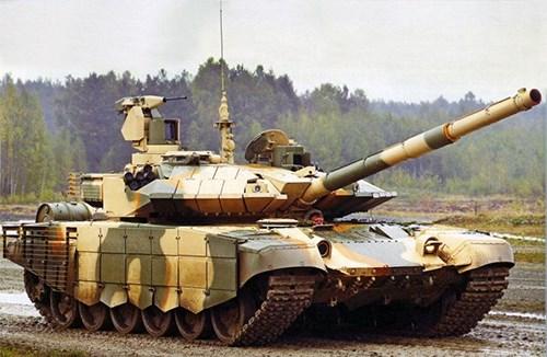 """Xe tăng T-90 của Nga – Nhỏ, nhưng có """"võ"""". Ảnh internet"""