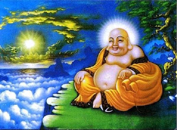 """Phật mỉm cười có thể an ủi nỗi đau khổ cùng đủ loại bất hạnh của con người, là """"thuốc quý"""" cứu vớt linh hồn của nhân loại. Ảnh: Internet"""
