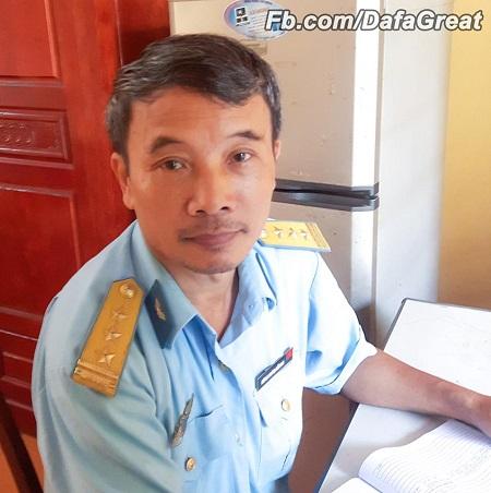 Thượng tá Nguyễn Quỳnh Xuyên, gіáo viên võ thuật Học viện Phòng Không - Không quân.(Ảnh: Fb.com/DafaGreat)