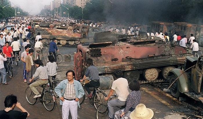 Vụ thảm án Thiên An Môn ngày 4/6/1989 gây chấn động thế giới. (Ảnh: Internet)