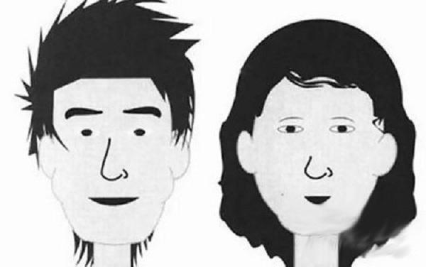 Hai vợ chồng có khuôn mặt hỗn hợp. (Ảnh: Internet)