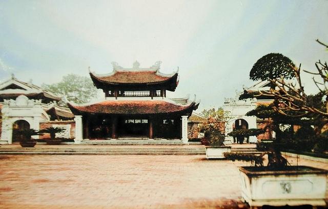 Đền thờ vua Quang Trung ở núi Quyết, Nghệ An. (Ảnh: Internet)