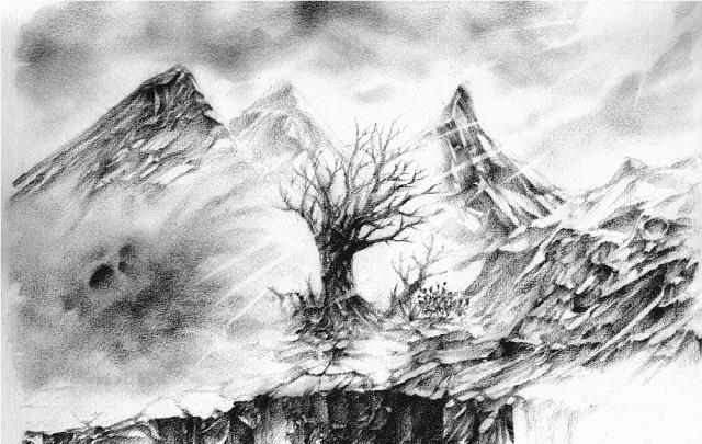 Niflheim, vùng đất lạnh lẽo và tăm tối nhất, nơi chỉ có sương mù và băng giá ngự trị. (Ảnh: Internet)