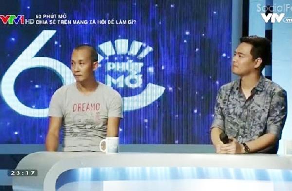 MC Phan Anh và nhiếp ảnh gia Na Sơn.