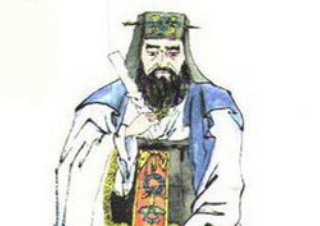 Chân dung tể tướng Lâu Sư Đức. (Ảnh: Internet)