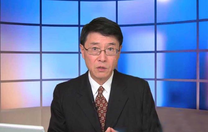 Ông Lý Thiên Tiếu – tiến sĩ chính trị học của trường đại học Colombia, chuyên gia bình luận thời sự chính trị nổi tiếng. (Ảnh: NTDTV)
