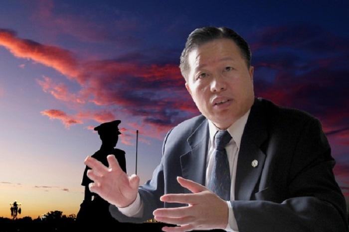 Ông Cao Trí Thịnh luật sư nhân quyền Trung Quốc dự đoán năm 2017 Đảng Cộng sản Trung Quốc sẽ sụp đổ. (Ảnh: Internet)
