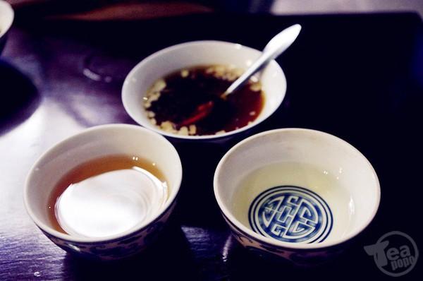 Tam đạo trà, trà kính 3 chén, mỗi chén có mùi vị và ý vị khác nhau. Ảnh: Internet