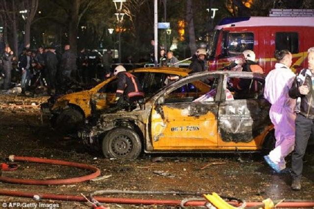 Ngày 13/3, 34 người đã thiệt mạng ở trung tâm thủ đô Ankara sau khi một chiếc ô tô phát nổ.