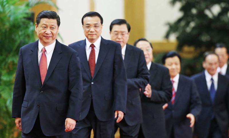 Đã xác định được 6 người trong Ban Thường vụ Đại hội 19 ĐCSTQ? (Ảnh: Financial Times)
