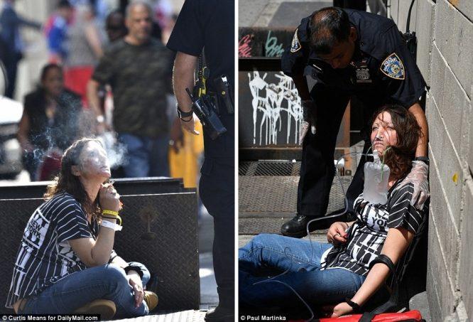 Hơn 30 người bỗng dưng bất tỉnh, co giật giữa đường phố New York.2