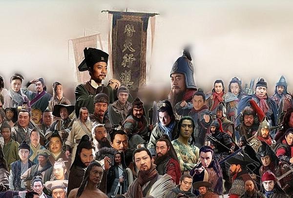 108 vị anh hùng Lương Sơn (Ảnh: Internet)