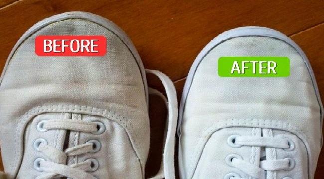 Giày trắng như mới chỉ bằng 1 bước - H1