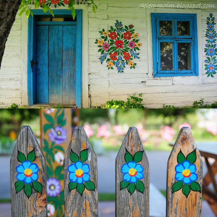 Zalipie - Ngôi làng rực rỡ sắc hoa ở Balan.3