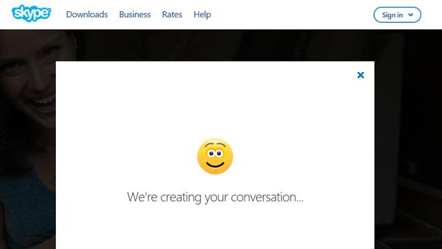 Sau đó chờ vài giây để Skype tiến hành khởi tạo dịch vụ cho bạn. (Ảnh: Genk)