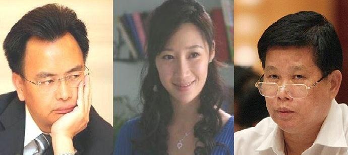 Từ trái qua: Vạn Khánh Lương, Hứa Thu Lâm, Trần Hoằng Bình.