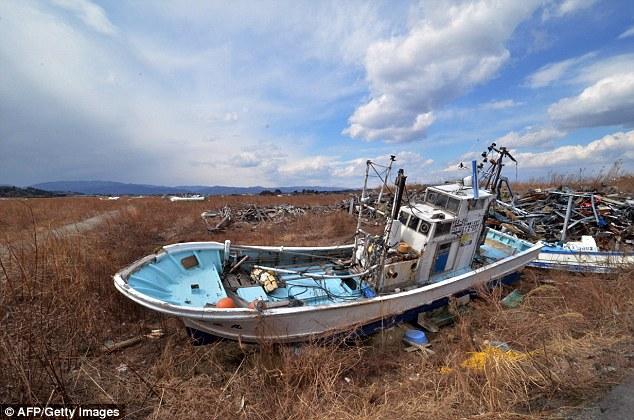 4 năm sau vụ thảm họa Fukushima, khu vực xung quanh vẫn đang được cách ly và không có ai sinh sống.