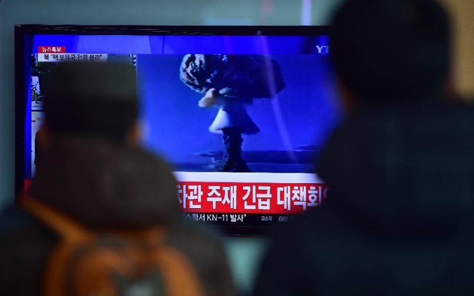 North Korea faked missile test footage: U.S. experts