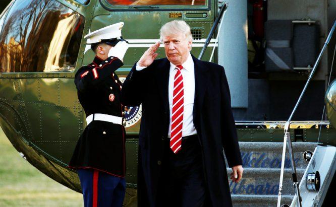 """Tấn công Syria: Donald Trump dùng 1 mũi tên nhắm vào 7 """"đích"""""""