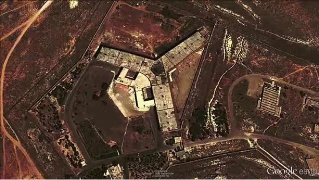 Nhà tù quân sự Saydnaya được coi là một trong những nhà tù khét tiếng bậc nhất Syria.