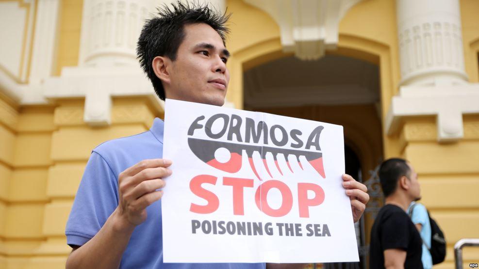 Formosa Hà Tĩnh CHC đề nghị phía Việt Nam xem xét, hướng dẫn điều kiện và thủ tục được miễn, giảm thuế xuất khẩu. (Ảnh: Voa)