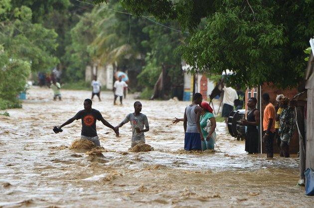 HAITI-WEATHER-HURRICANE-MATTHEW-LANDFALL