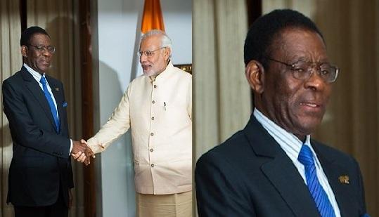 Mokgweetsi Masisi - Phó tổng thống nước Cộng hoà Botswana trong chuyến gặp mặt với Thủ tướng Ấn Độ Narendra Modi.