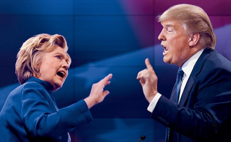Cuộc tranh cử Tổng thống Mỹ đã hạ màn với chiến thắng bất ngờ thuộc về Donald Trump. (Ảnh: Internet)