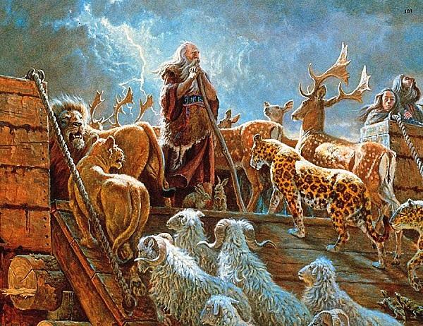 Đại hồng thủy trong các truyền thuyết của nhân loại ẩn chứa thiên cơ gì?.3