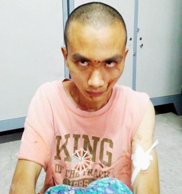 Nghi phạm Ngô Quang Huy (pháp danh Thiện Huy, 21 tuổi). Ảnh: Công an cung cấp