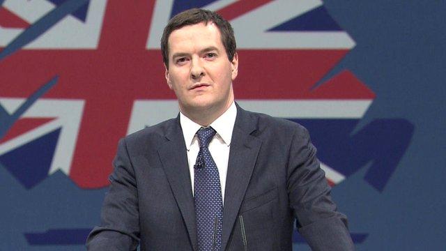 Bộ trưởng Tài chính Anh George Osborne.