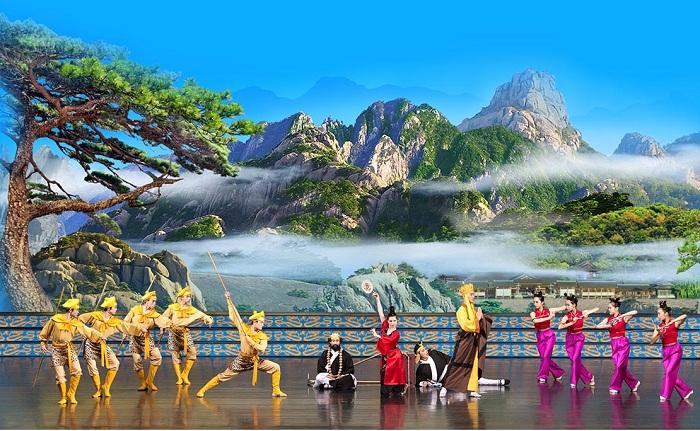 Màn trình diễn của Shen Yun mang vẻ đẹp thuần thiện, thuần mỹ. (Ảnh: Shen Yun)