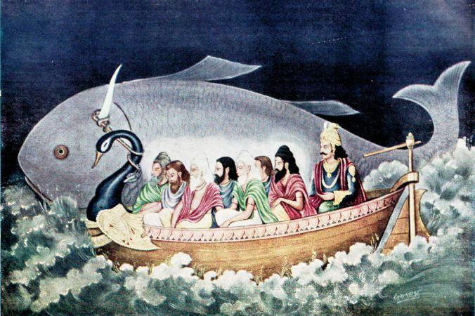 Đại hồng thủy trong các truyền thuyết của nhân loại ẩn chứa thiên cơ gì?.7