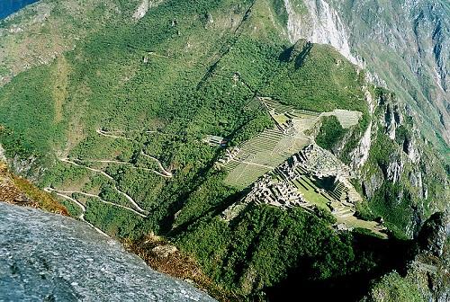 Toàn cảnh Machu Picchu.