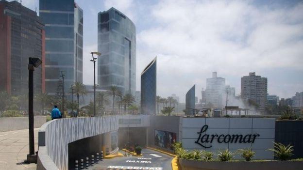 Trung tâm thương mại này nằm ngay cạnh một khách sạn sẽ tổ chức chức Hội nghị cấp cao APEC. (Ảnh: Internet)