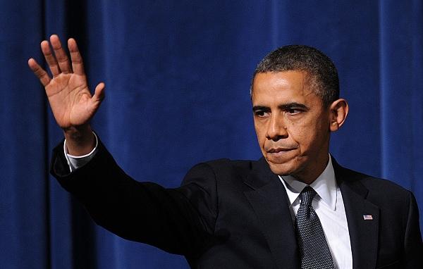 Tổng thống Mỹ Barack Hussein Obama.