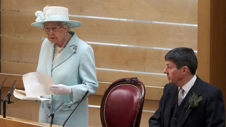 Britain-s-Queen-Elizabeth-addresses-the-Scottish-Parliament-as-sh