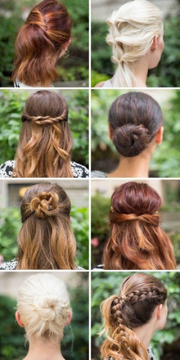 Cách làm những kiểu tóc đẹp, sang trọng nhanh nhất cho các nàng xuống phố (1)