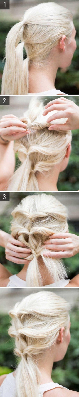 Cách làm những kiểu tóc đẹp, sang trọng nhanh nhất cho các nàng xuống phố (11)