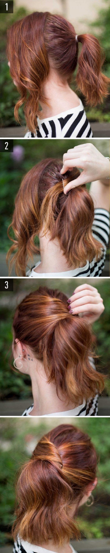 Cách làm những kiểu tóc đẹp, sang trọng nhanh nhất cho các nàng xuống phố (3)
