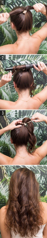 Cách làm những kiểu tóc đẹp, sang trọng nhanh nhất cho các nàng xuống phố (4)