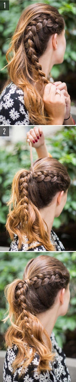 Cách làm những kiểu tóc đẹp, sang trọng nhanh nhất cho các nàng xuống phố (7)