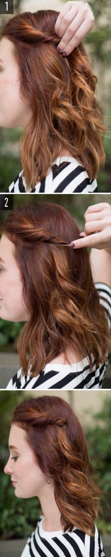 Cách làm những kiểu tóc đẹp, sang trọng nhanh nhất cho các nàng xuống phố (8)