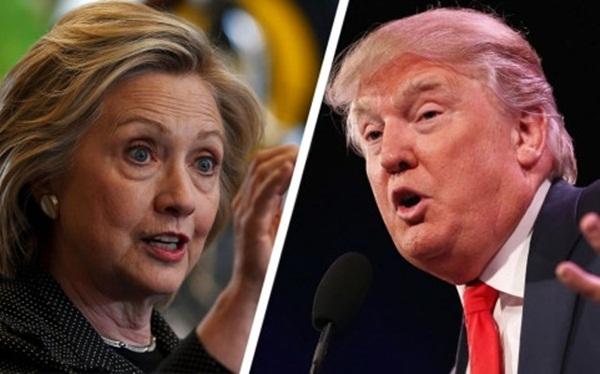 2 ứng cử viên sáng giá của vị trí Tổng Thỗng Mỹ. (Ảnh: Internet)