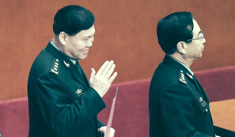 Trương Dương và Phòng Phong Huy. (Ảnh: NTDTV)