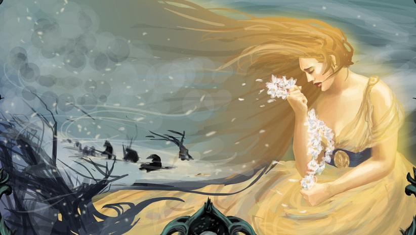 Trong thần thoại Hy Lap, bốn mùa trên thế gian bắt nguồn từ câu chuyện về tình yêu của thầnDemetervới con gái