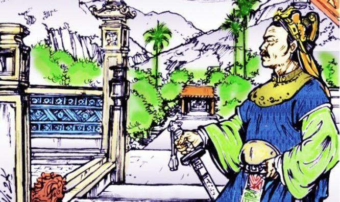 Đinh Bộ Linh, người có công đánh dẹp loạn 12 sứ quân, thống nhất giang sơn, sáng lập triều đại nhà Đinh. (Ảnh: Vietlist)