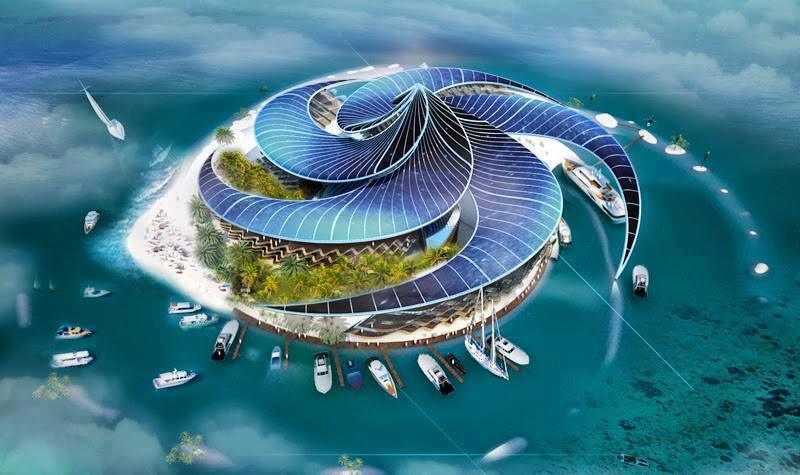 Dubai - thiên đường trên biển