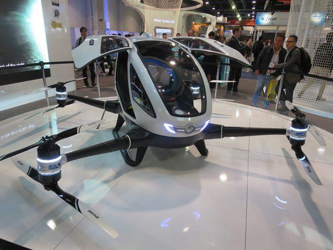 Dubai sắp vận hành taxi bay Trung Quốc sản xuất. 2