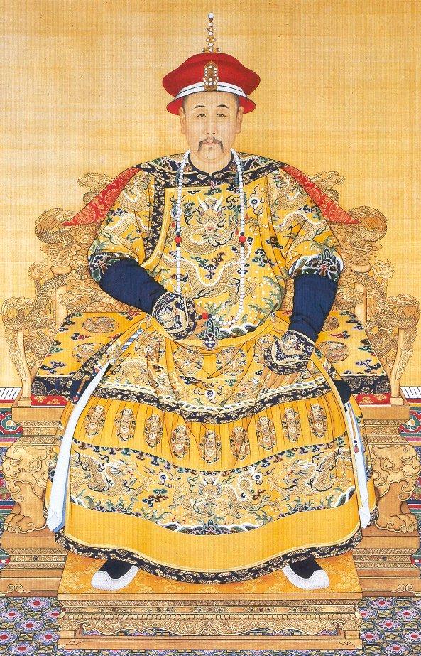Chân dung của hoàng đế Ung Chính.